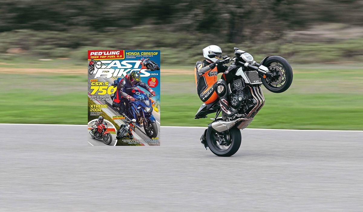 Fast Bikes India June 2018 issue – on stands now!