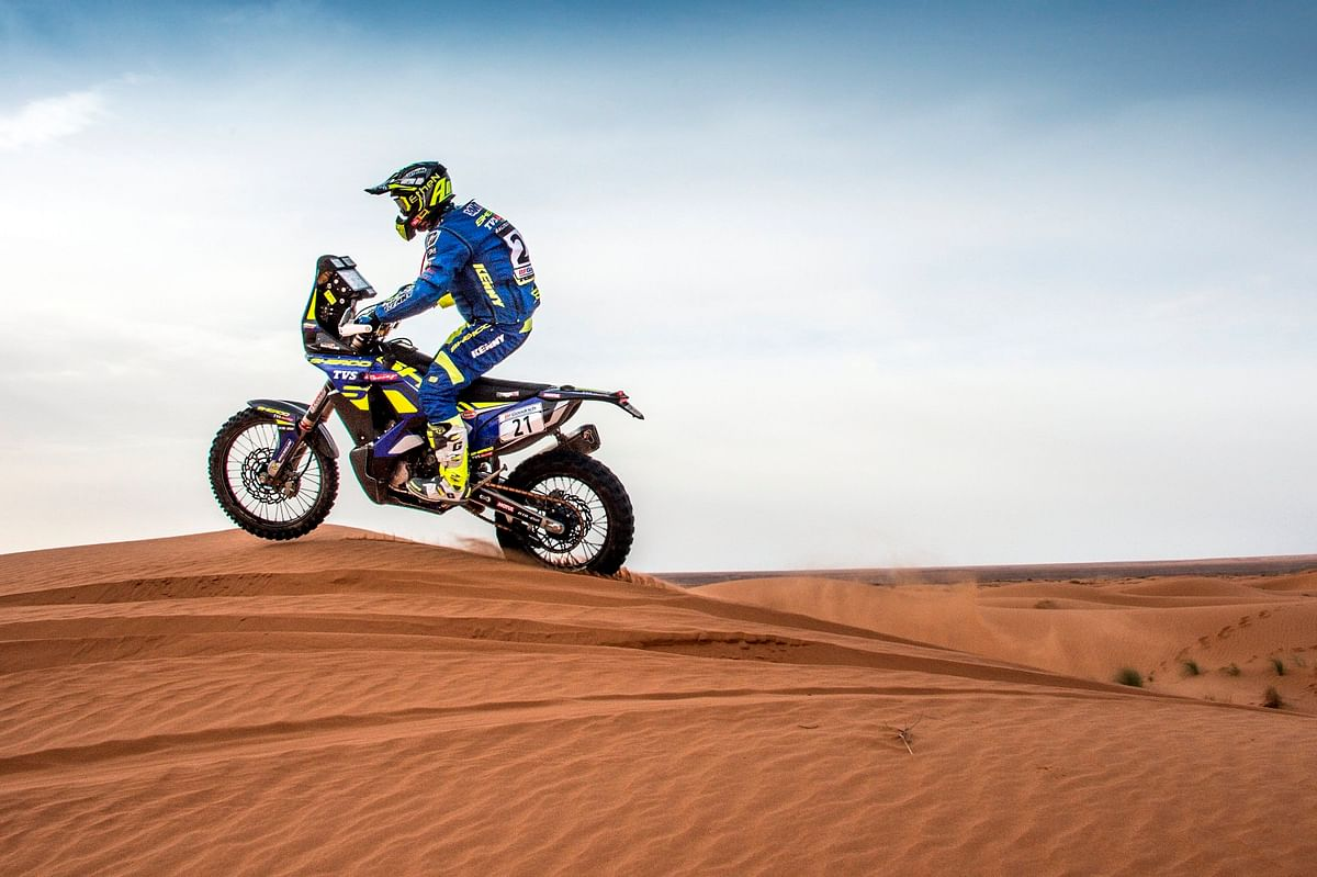 Rally of Morocco 2018 – Sherco TVS delivers a stellar performance