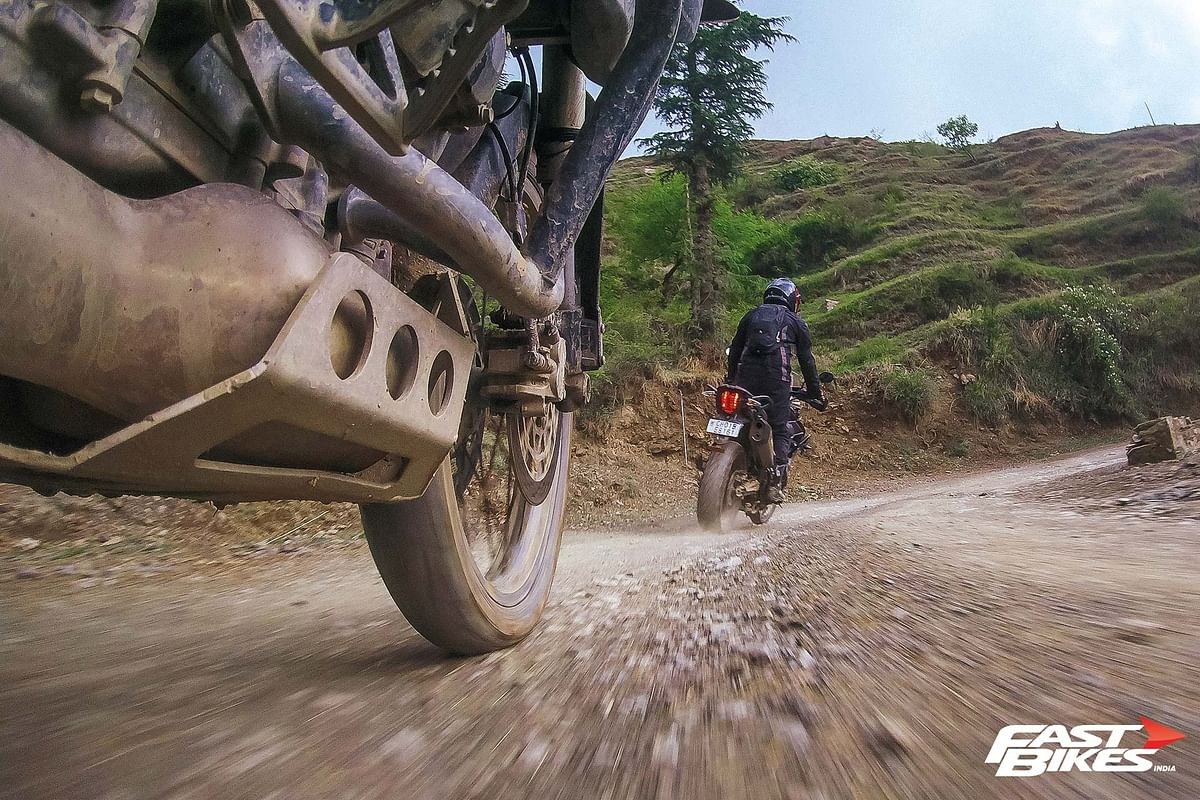 """This isn't just a ride, it is an off-road training session"""""""