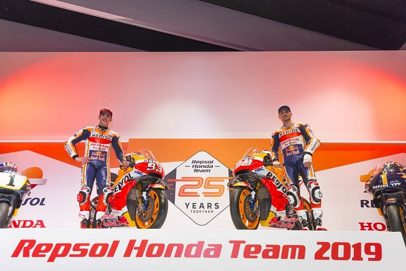MotoGP: Repsol Honda reveals livery for 2019 RC213V machine