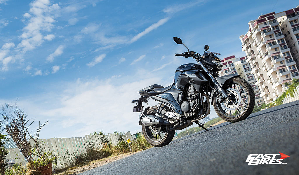 Long term: Yamaha FZ25