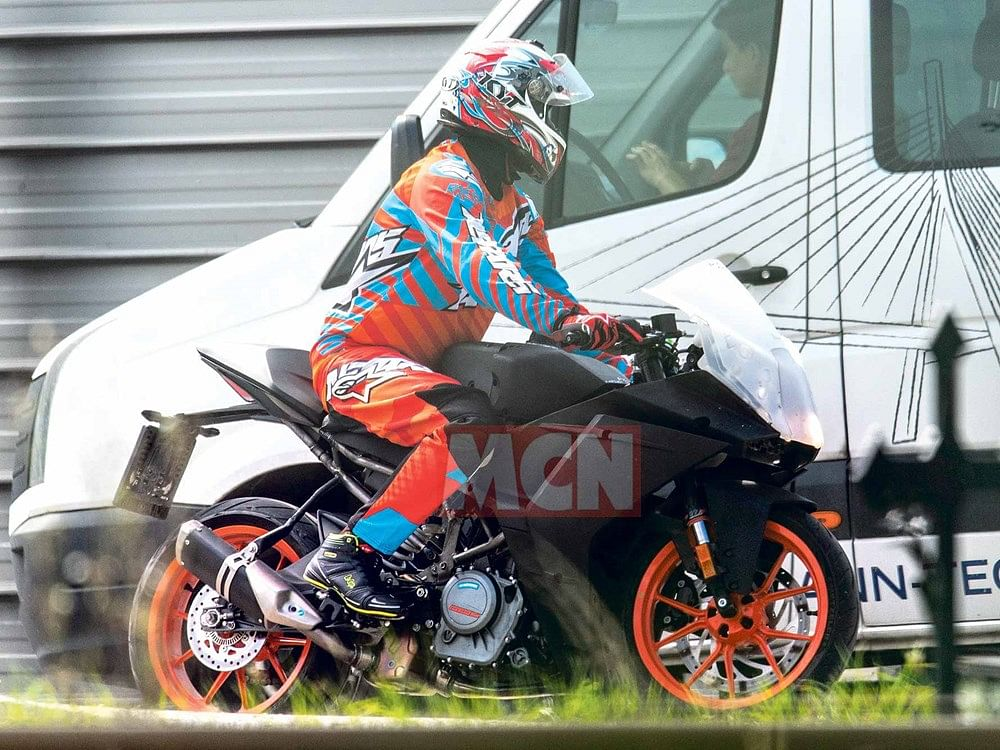 New generation KTM RC 390 spotted testing abroad