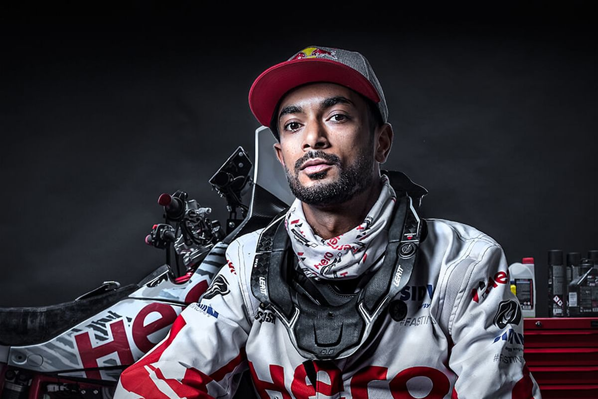 The first Indian to participate in the Dakar rally