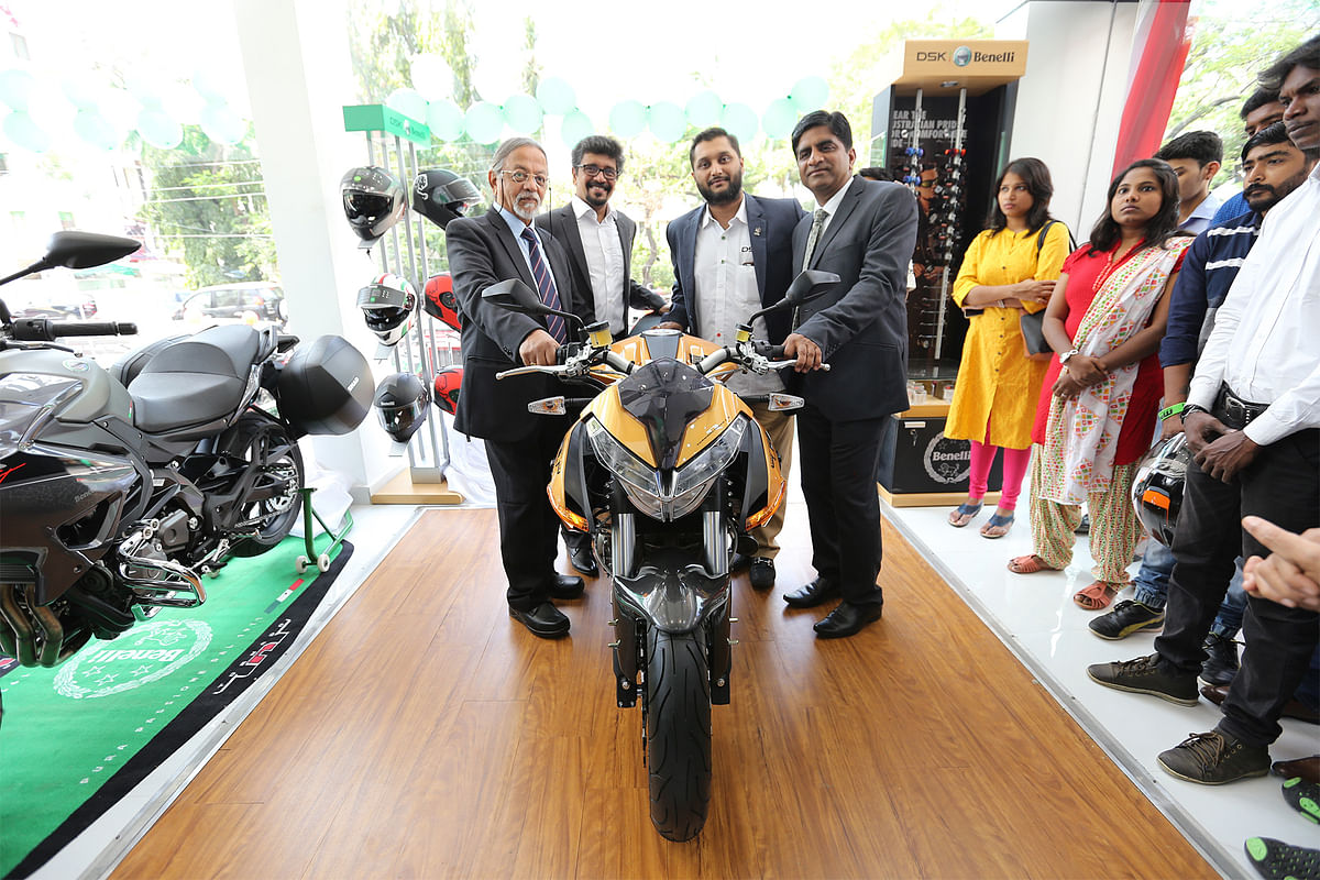 DSK Benelli opens its second showroom in Chennai