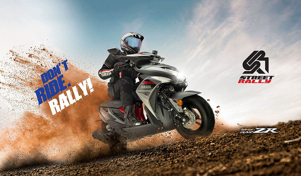 Yamaha introduces a new 'Street Rally' edition of Cygnus Ray-ZR
