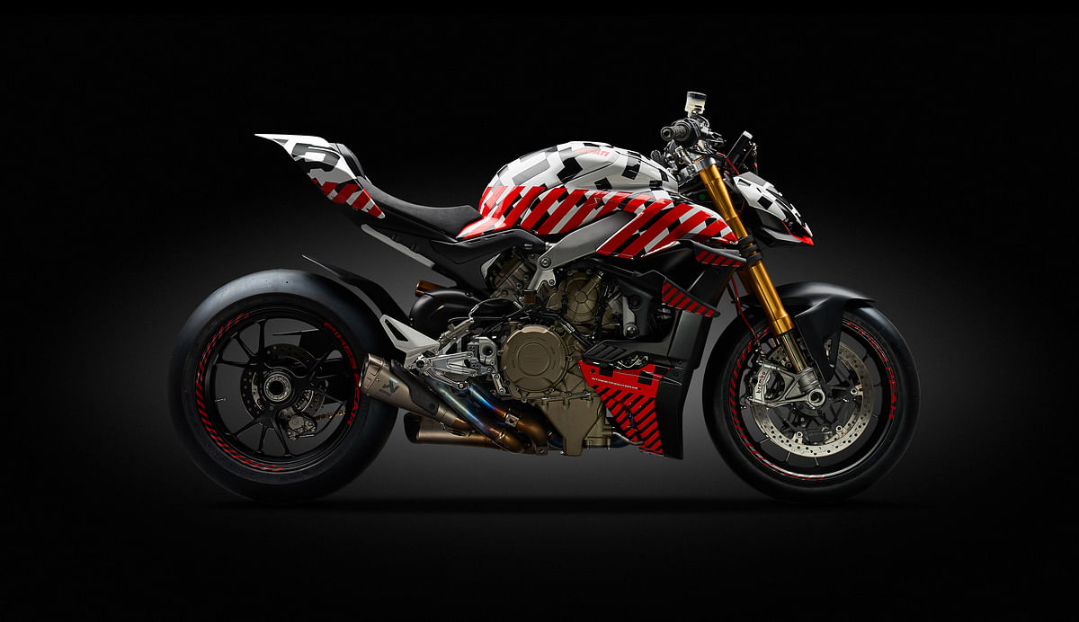 Ducati Streetfighter V4 prototype breaks cover ahead of Pikes Peak debut