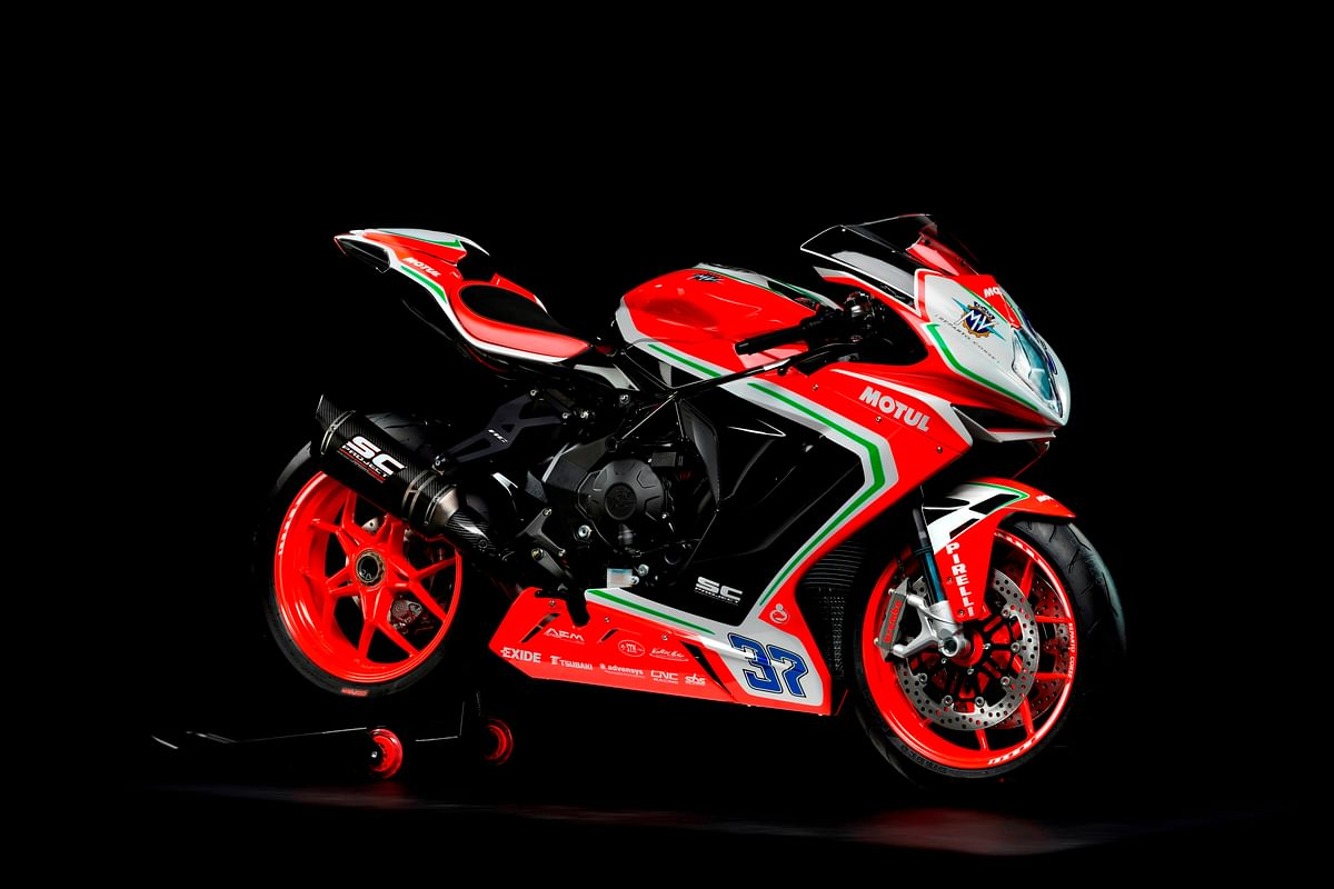 Limited Edition MV Agusta F3 RC launched