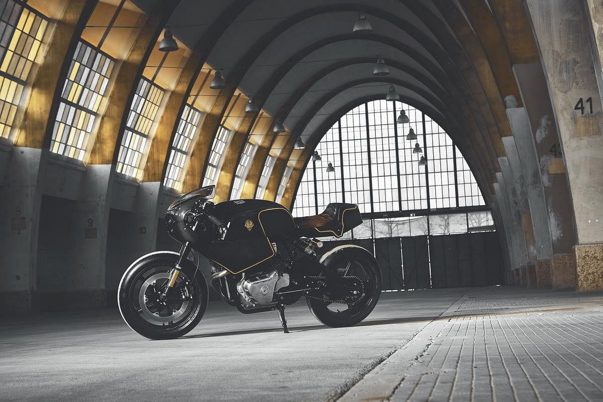 Royal Enfield showcases six wicked customs at  Wheels and Waves 2019