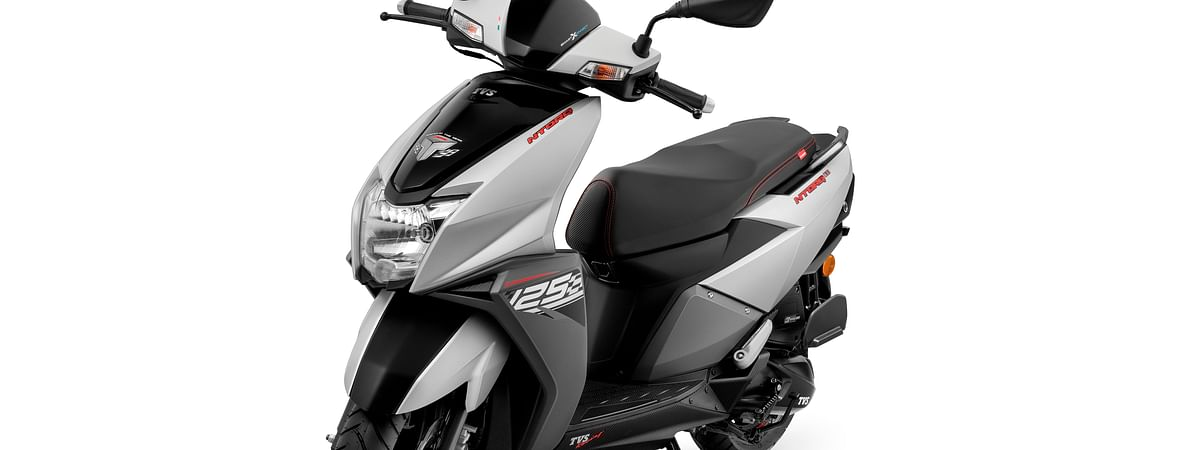 TVS introduces new Matte Silver colour to the NTORQ 125