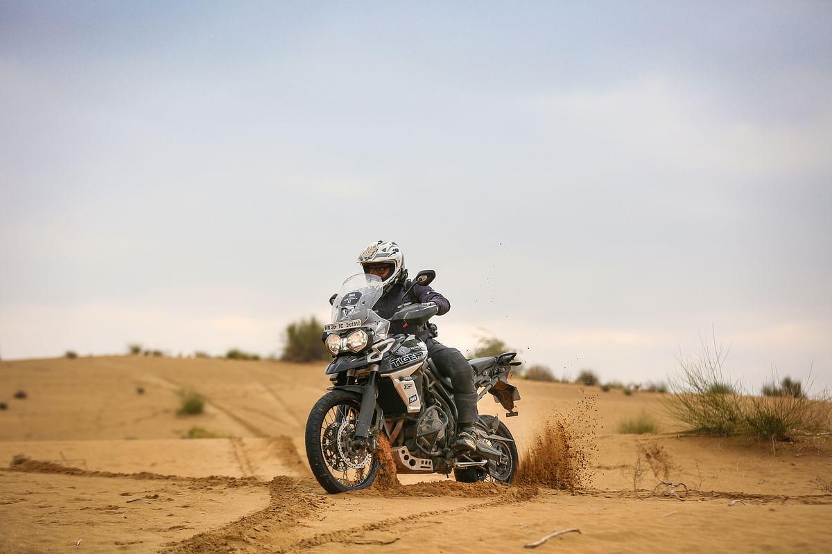 Triumph Tiger Trails: Friend with Benefits