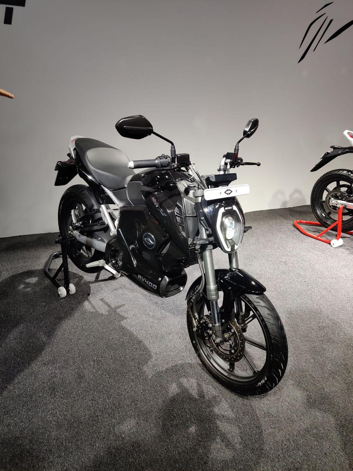 Revolt RV400 unveiled