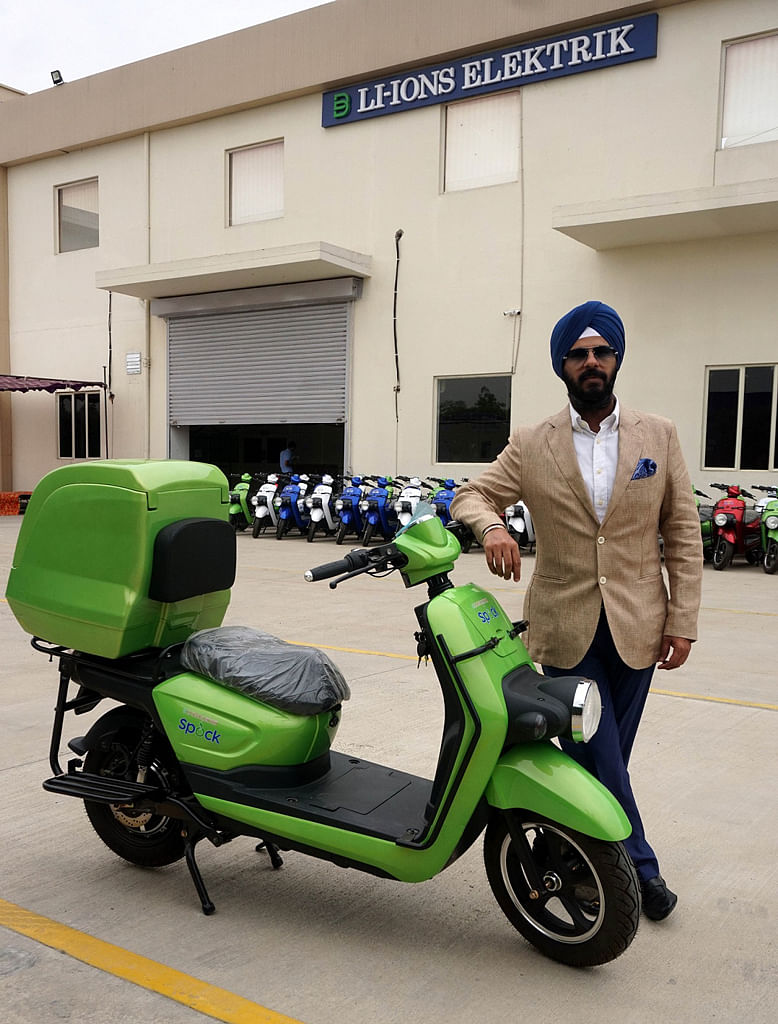 Spock electric two-wheeler launched at Rs 65, 000