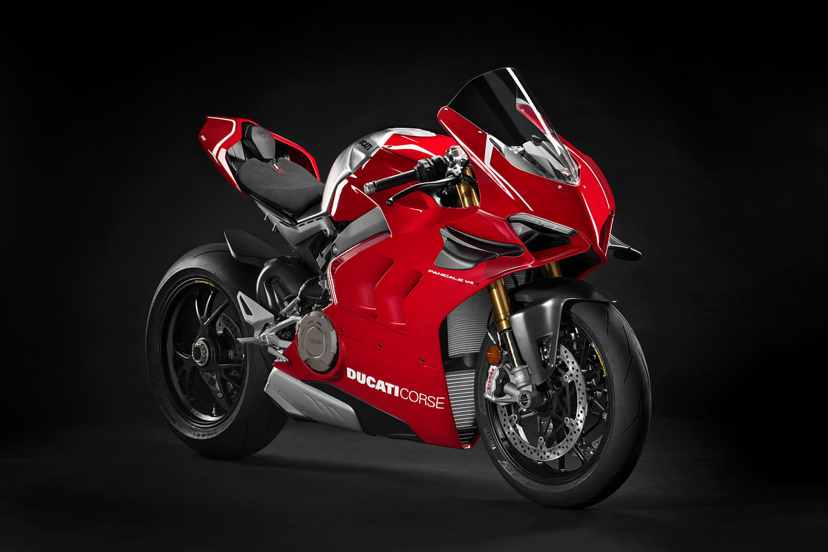 Ducati V4 Streetfighter to debut at Pikes Peak 2019