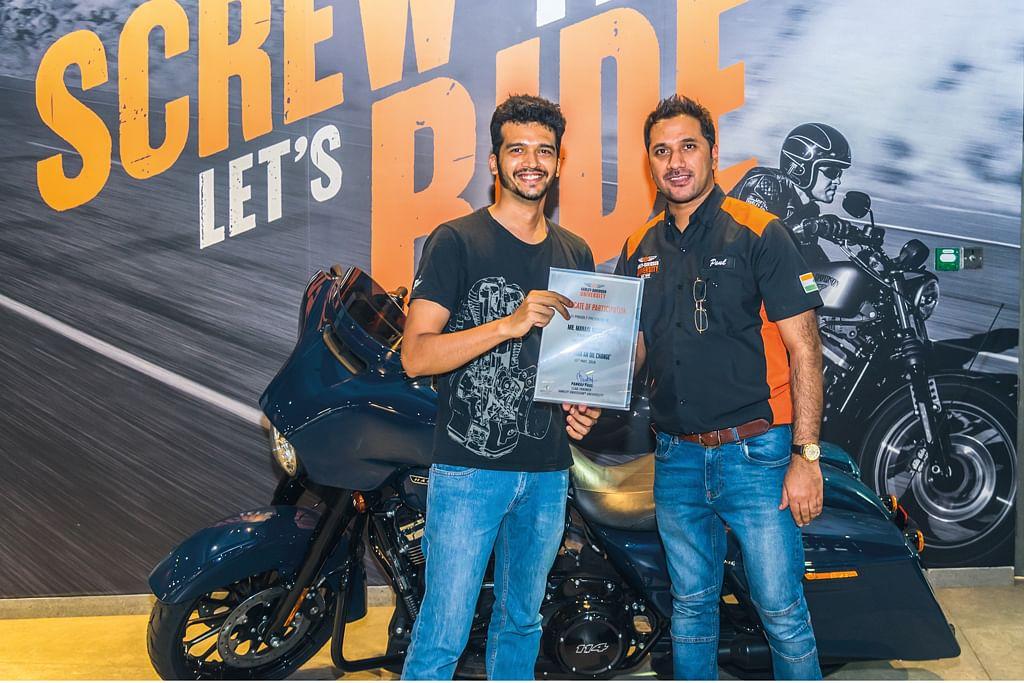 Harley Davidson university - Rookie road