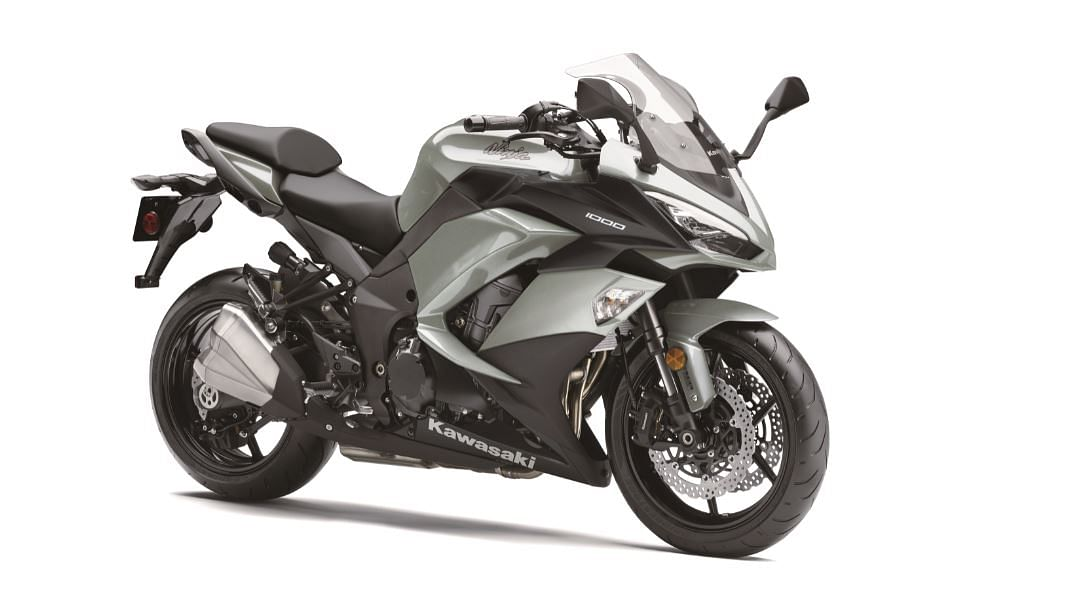 Kawasaki Ninja 1000 gets a silver colour theme