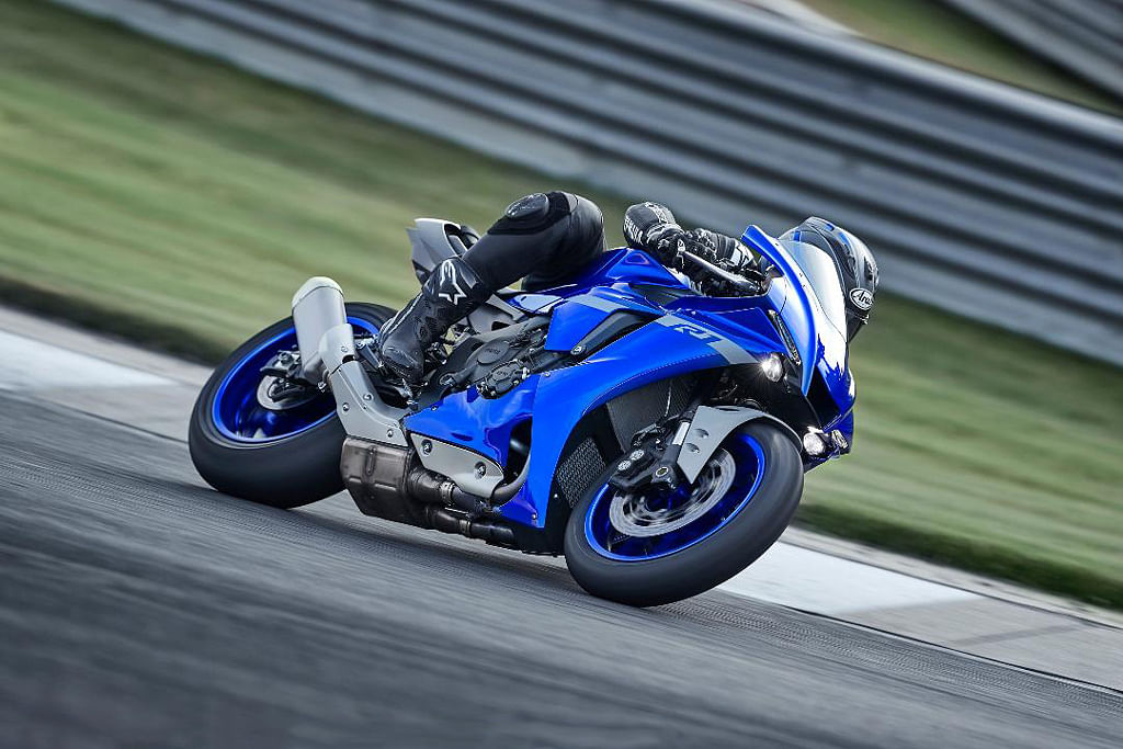 Yamaha showcases 2020 R1 and R1M