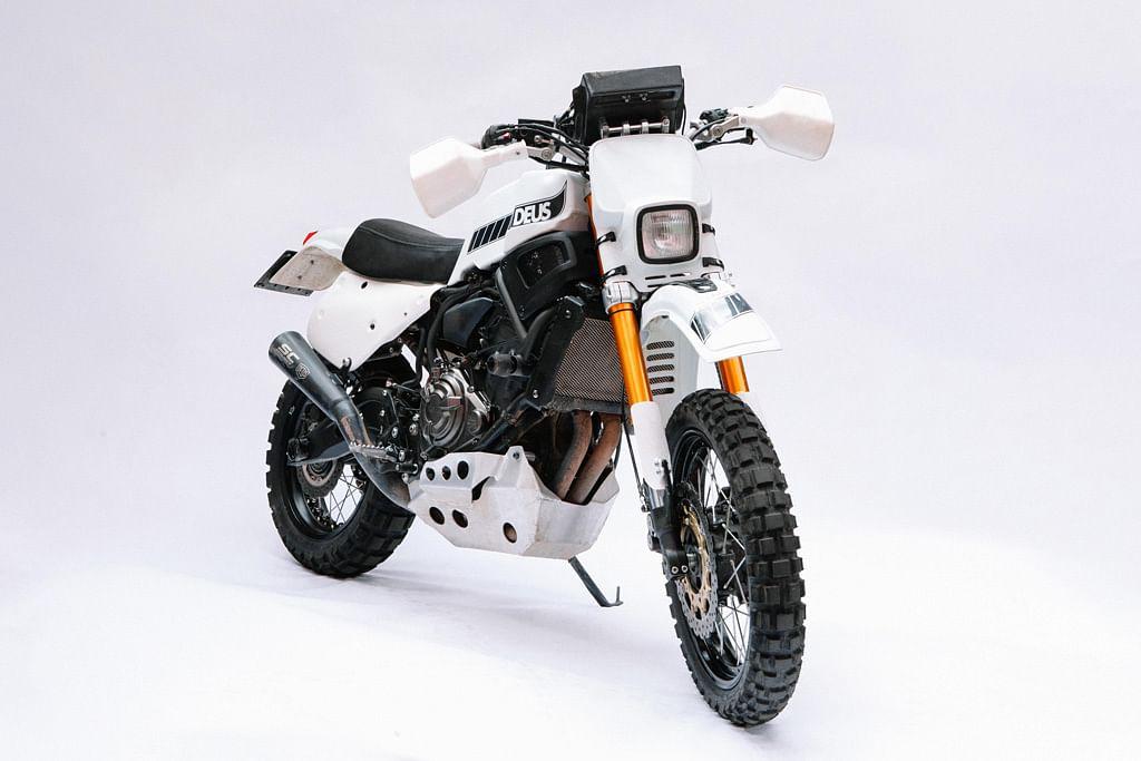 Yamaha and Deus showcase the custom Swank Rally700