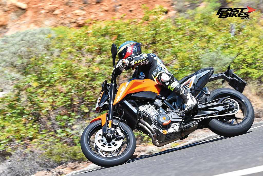 KTM 790 Duke spotted in India, likely to launch soon