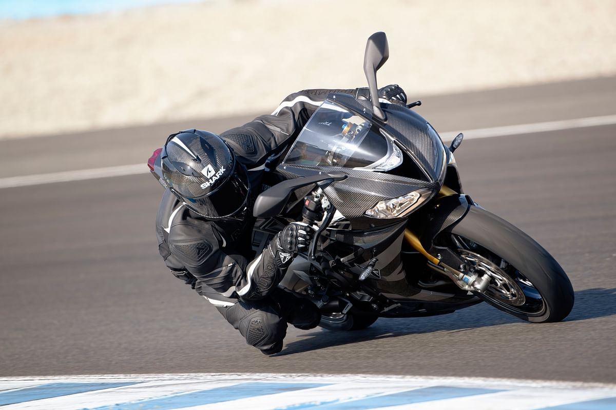 Triumph Daytona Moto2 765 Limited Edition unveiled at Silverstone