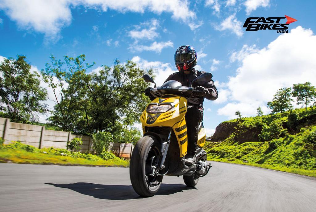 Aprilia Storm 125: First Ride Review