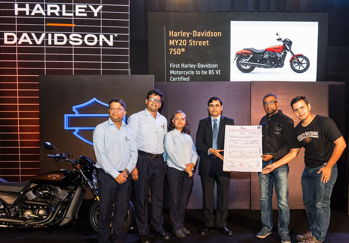 Harley Davidson launches BS VI-compliant Street 750 Special Edition