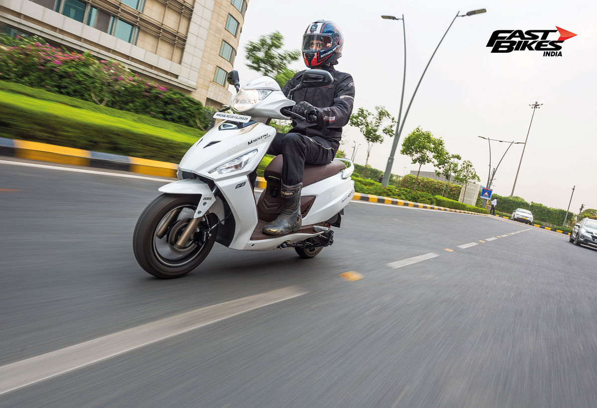 Hero Maestro Edge 125 FI: First ride review