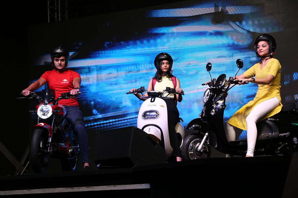 Evolet electric scooters launched by Rissala Electric Motors