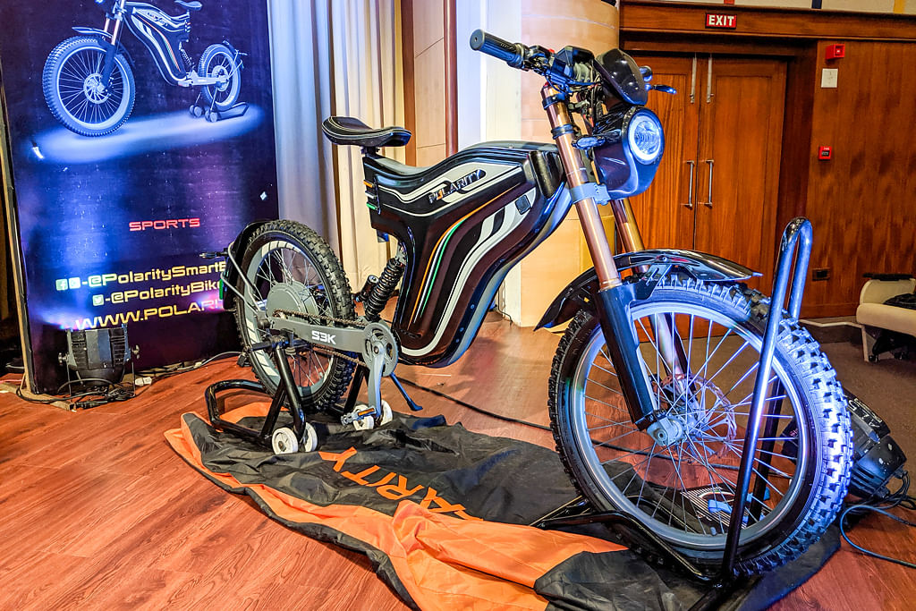 Polarity Smart Bikes unveils 6 prototypes of their unique Personal Mobility Vehicle