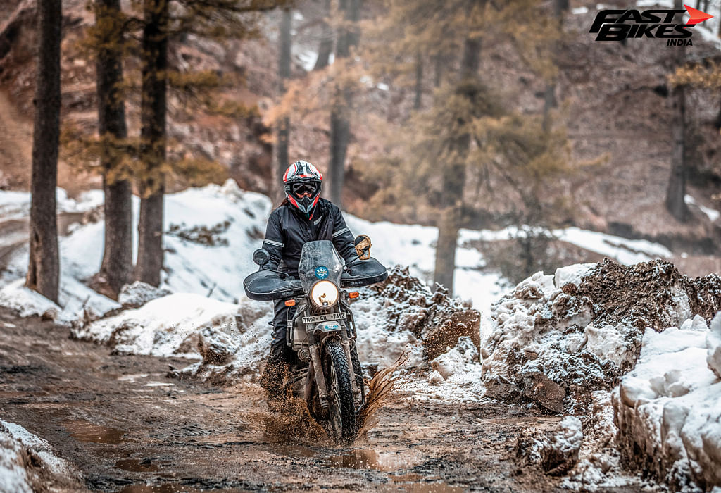 Royal Enfield Himalayan in Spiti: Whiteout 2.0