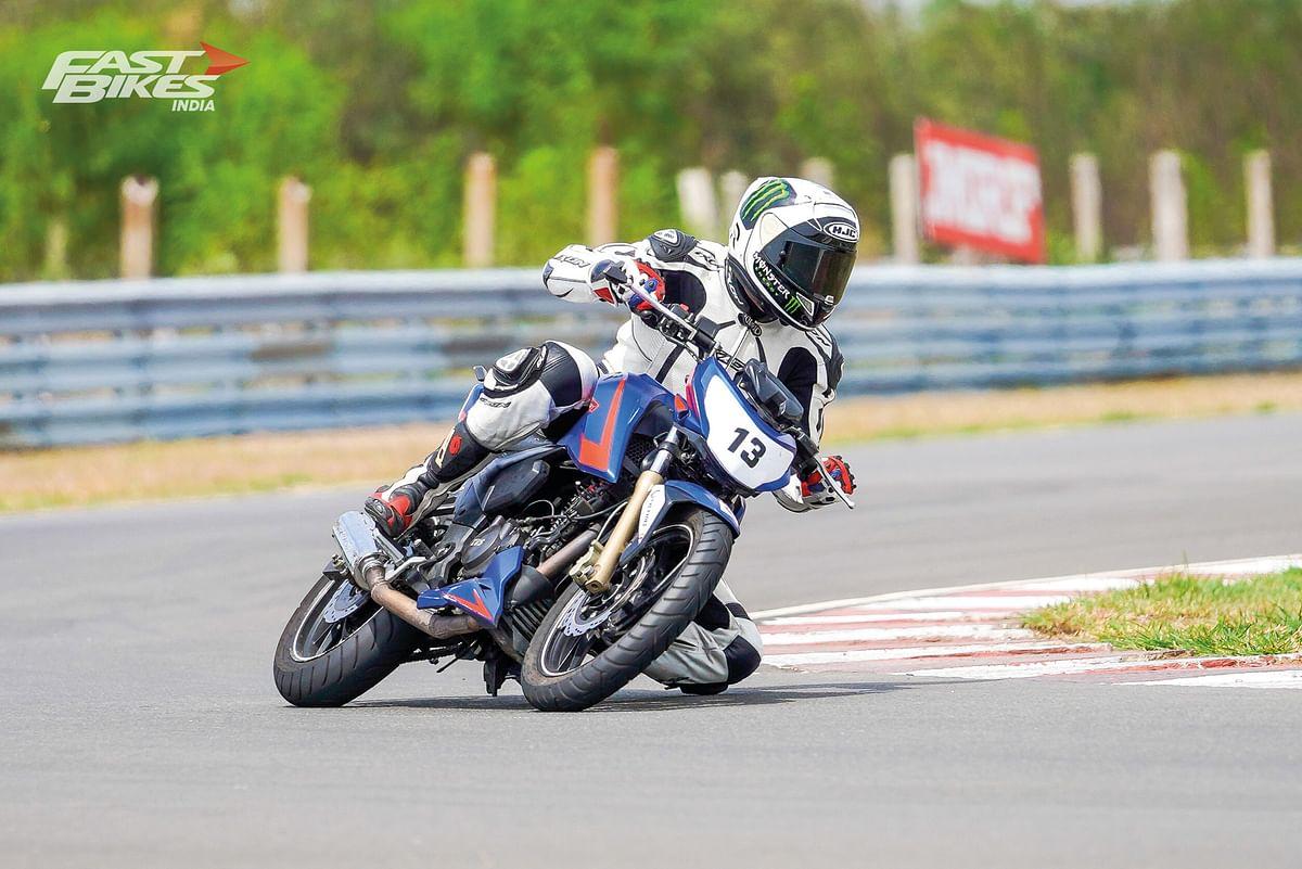 TVS Young Media Racer Programme - Fighting spirit