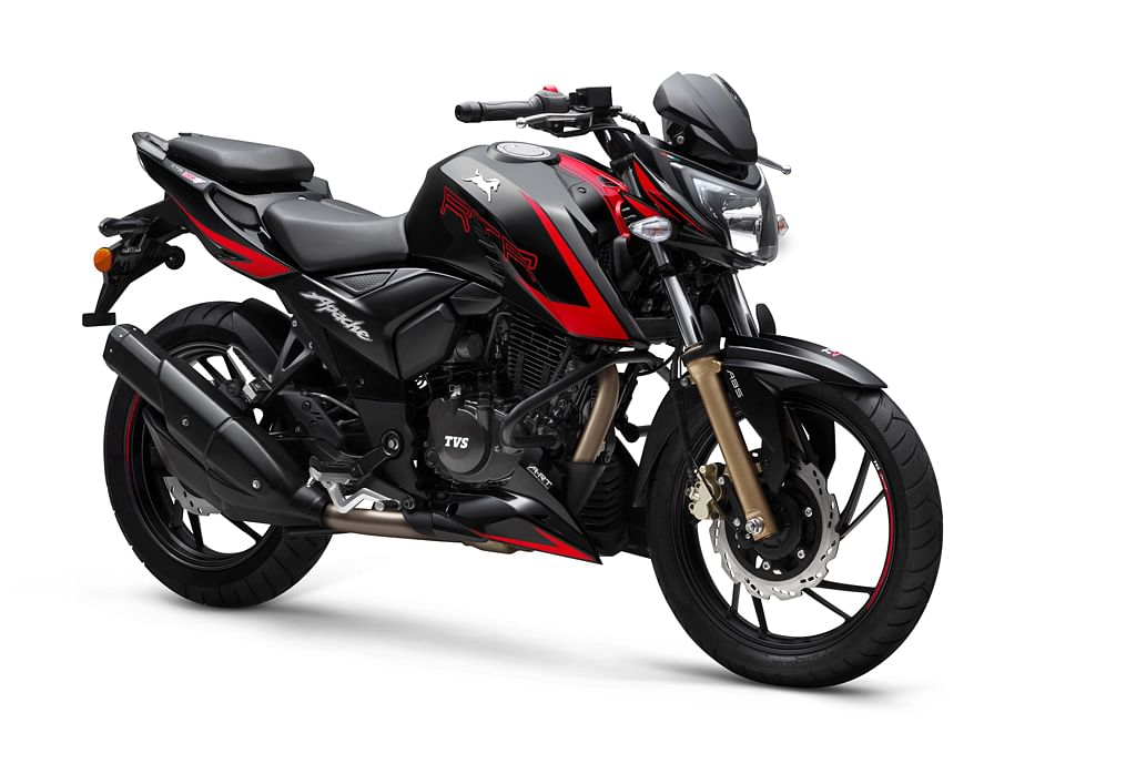 TVS launches Bluetooth-enabled Apache RTR 200 4V