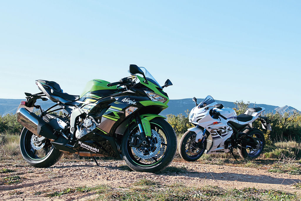 Size Matters: Kawasaki Ninja ZX-6R vs Suzuki GSX-R1000R