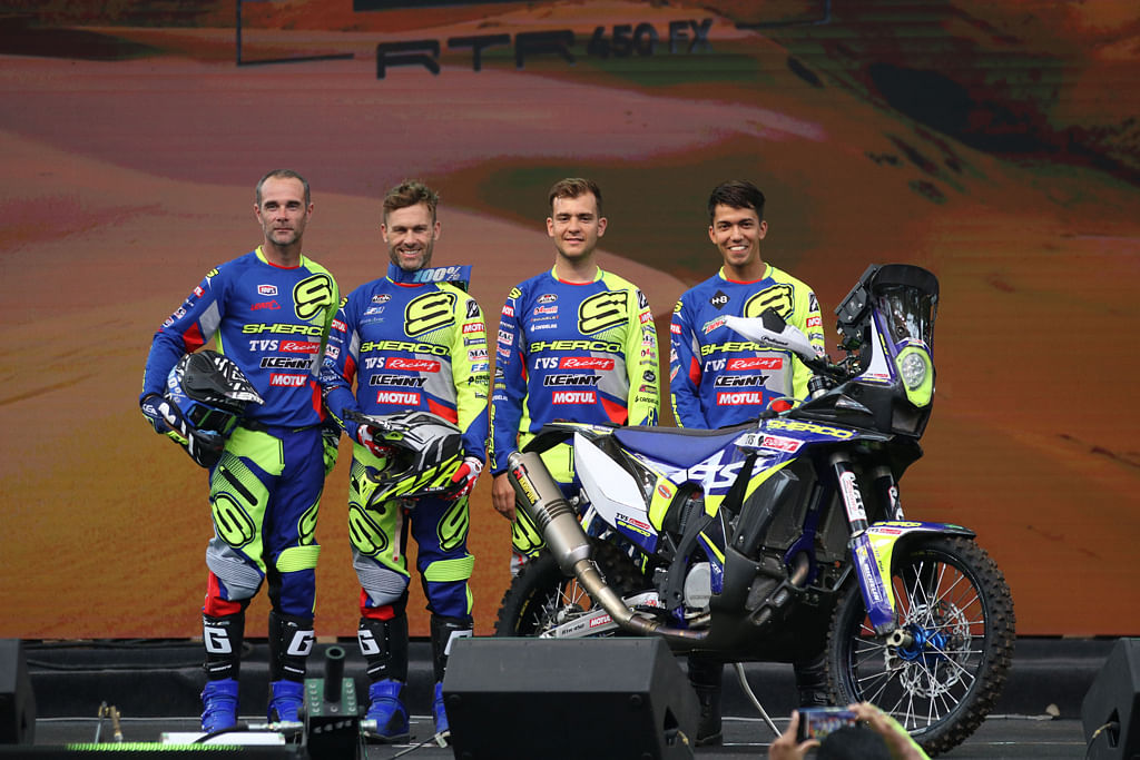 Sherco TVS Rally Factory Team announces 2020 Dakar Lineup