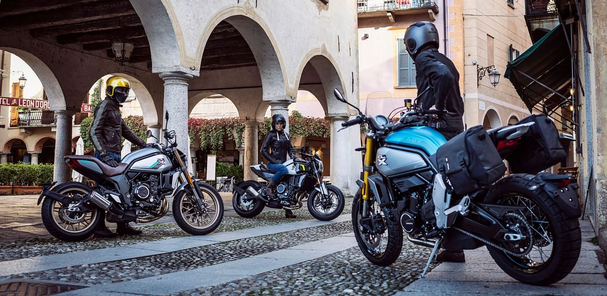 CF Moto launches scrambler-styled 700CL-X