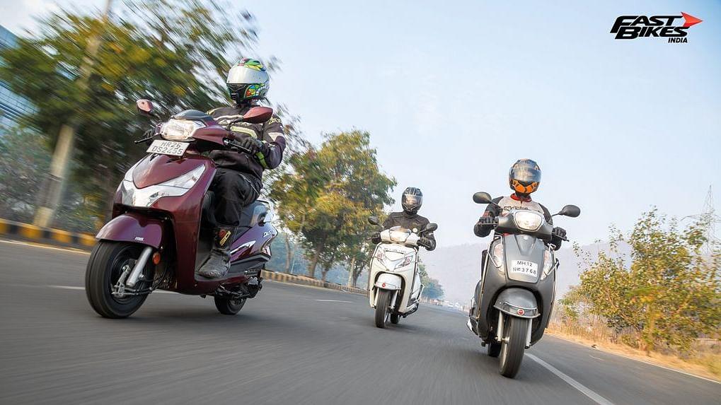125cc Scooter Comparo: Hero Destini v Honda Activa v Suzuki Access