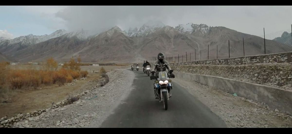 Triumph Motorcycles India conquer the Zanskar Valley
