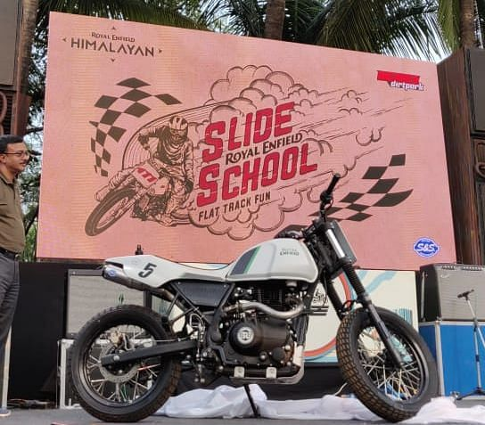 Royal Enfield announces the launch of Slide School at Rider Mania 2019