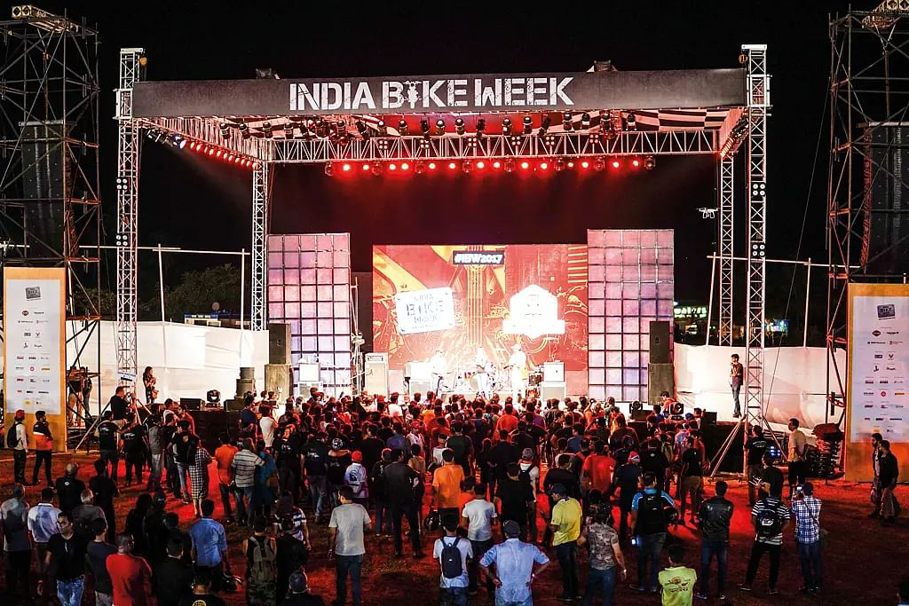 How to ride to 2019 India Bike Week?