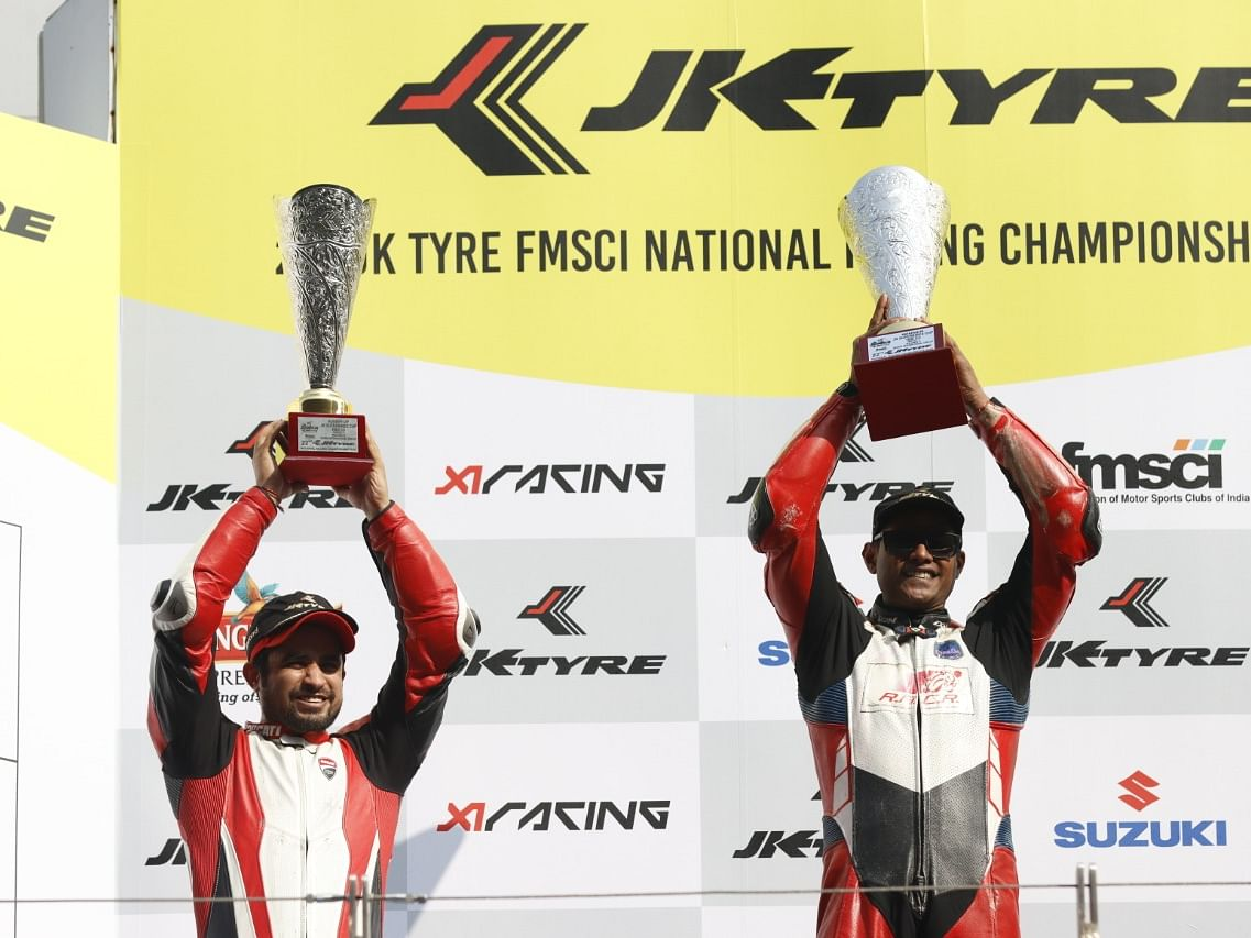 Ducati shines at the FMSCI Indian National Superbike Racing Championship 2019