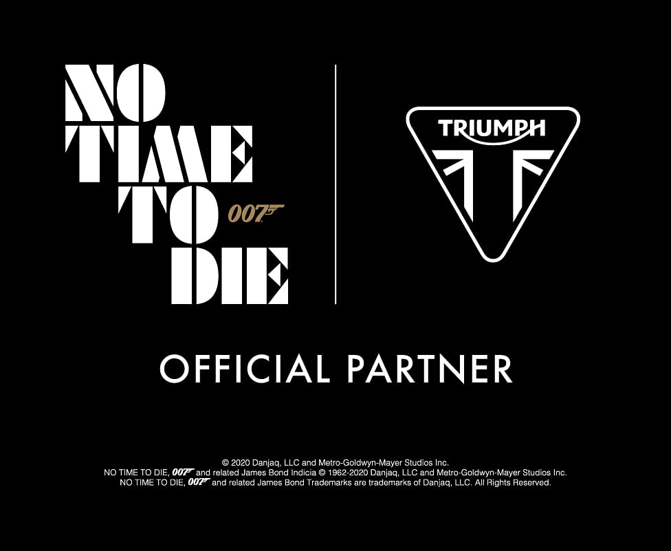 James Bond and Triumph announce an exciting partnership.