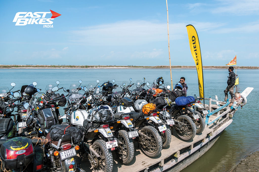 Royal Enfield Tour of North East 2018