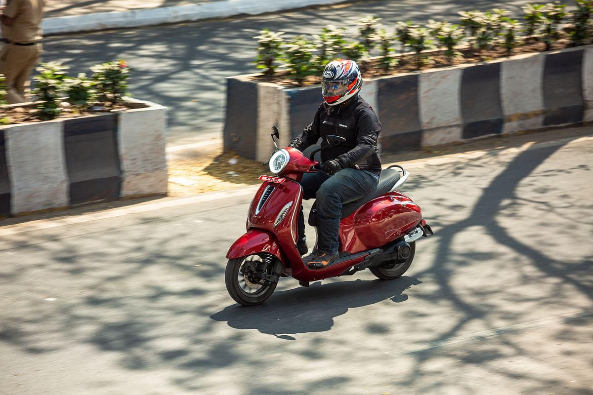 Iconic Bajaj Chetak is back on roads in electric avatar