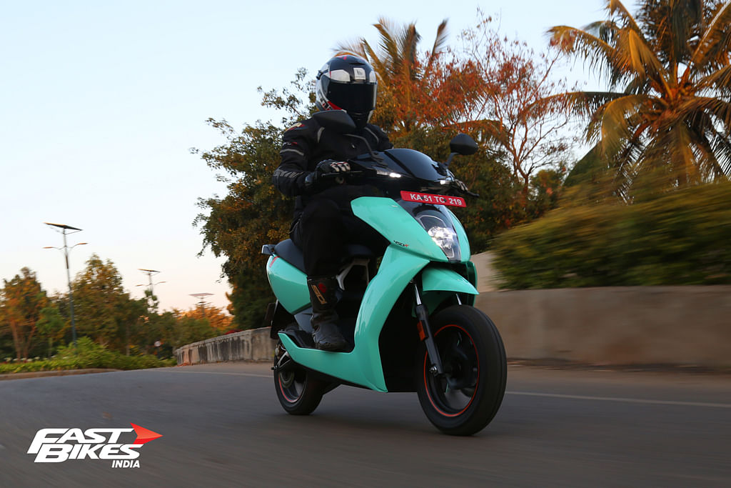 Performance and practicality is packed nicely in Ather 450x