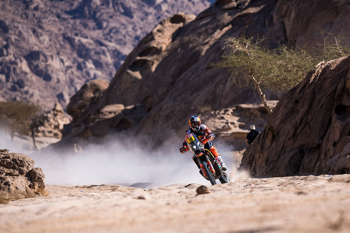 Dakar 2020: Privateer Ross Branch takes charge in the second stage