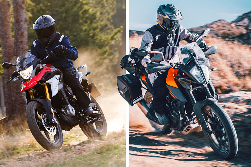 KTM 390 Adventure vs BMW G 310 GS: Specification and price comparison