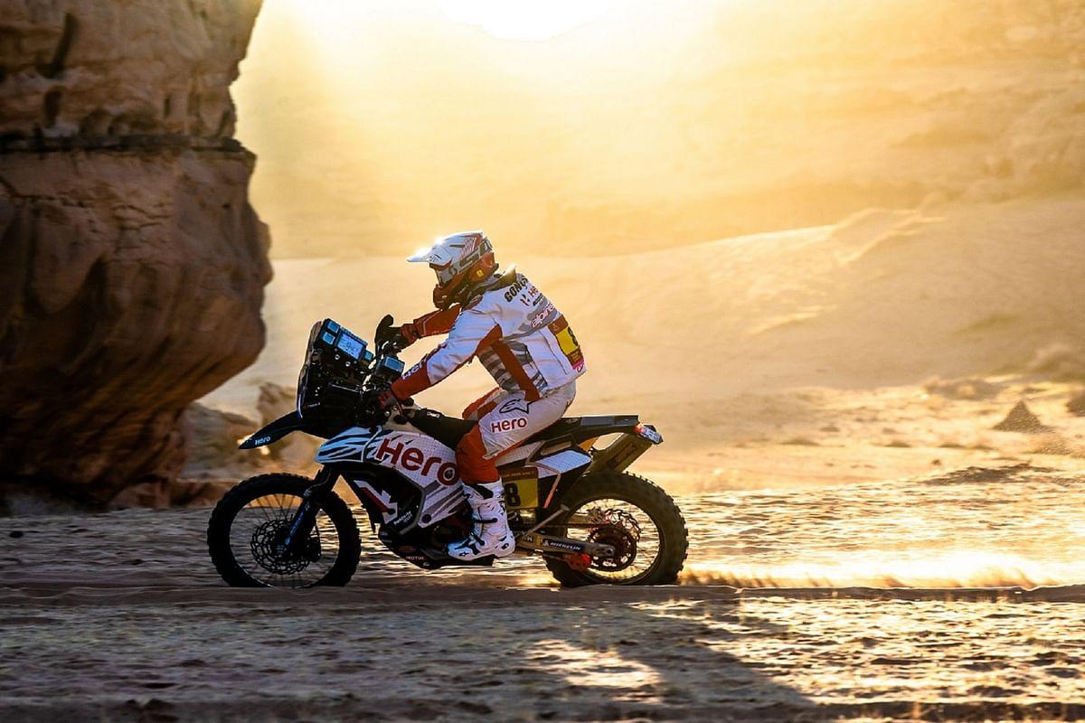Dakar 2020 | Stage six | 3rd top ten finish for Hero MotoSport's Paulo Goncalves