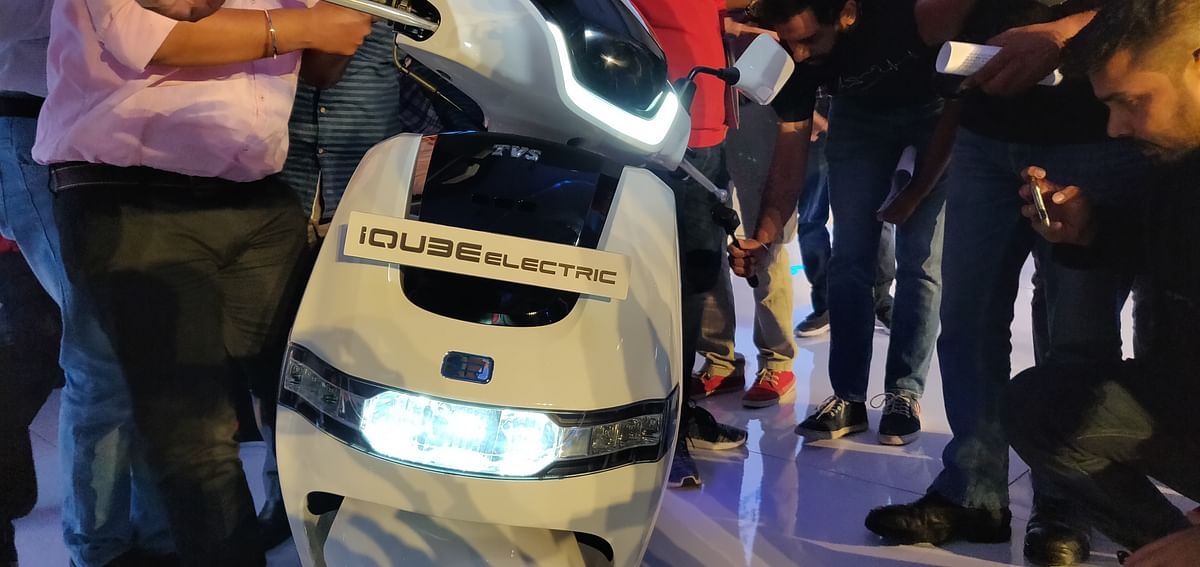 TVS launches iQube Electric at Rs 1.15 lakh