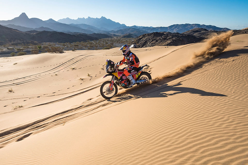 Dakar 2020: Toby Price leads at the end of Stage 1