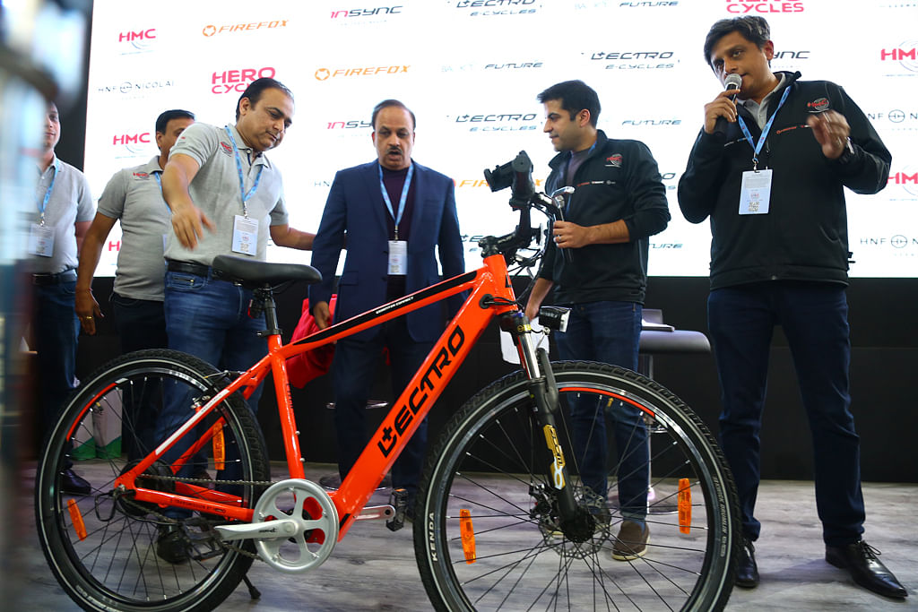 Auto Expo 2020: Hero Cycles showcases its electric range
