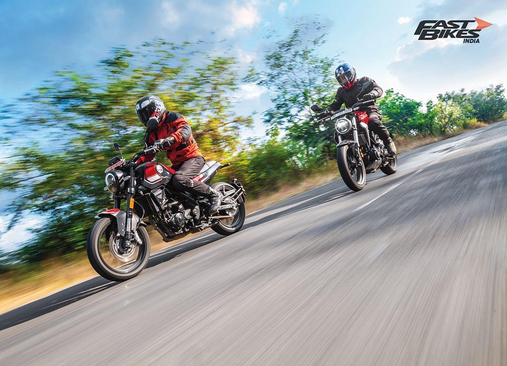 Honda CB300R and Benelli Leoncino 250